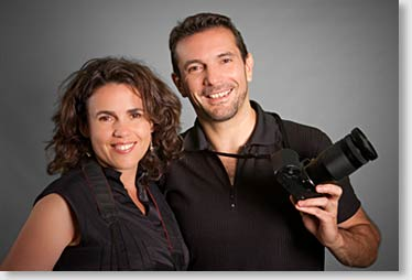 Fotograf mit Fotografin