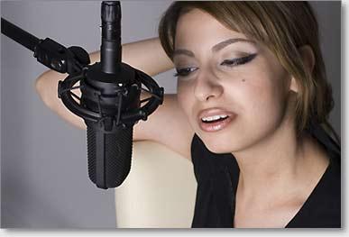 Casting Agentur Sängerin