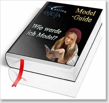 Modelbook mit Titel - Wie werde ich Model