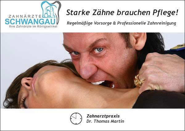 Zahnmodel werden bei www.zahnarzt-schwangau.de